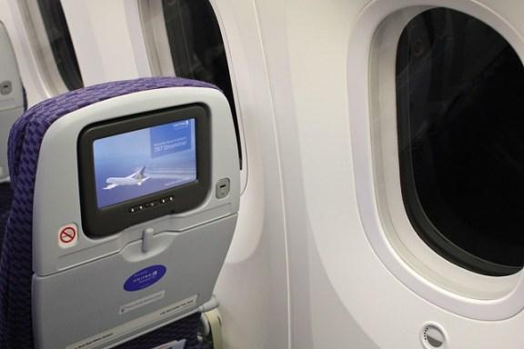 United 787 Economy Seat