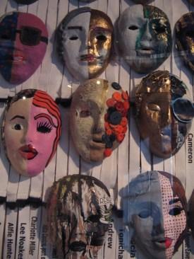 Masks, Londinium 2012 at Museum of London