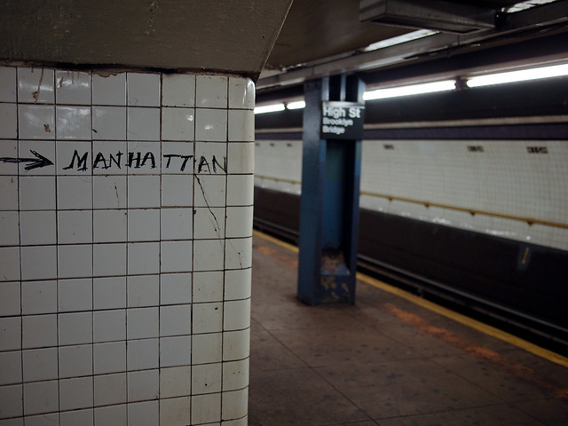 This way to Manhattan