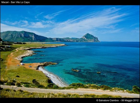 San Vito Lo Capo landscape, best Sicily beaches