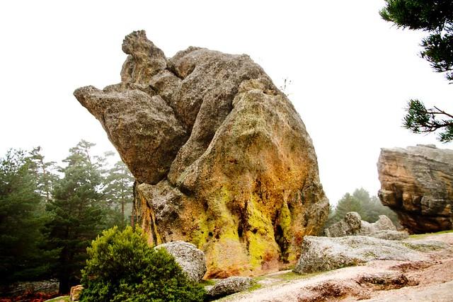 un castillo de piedra