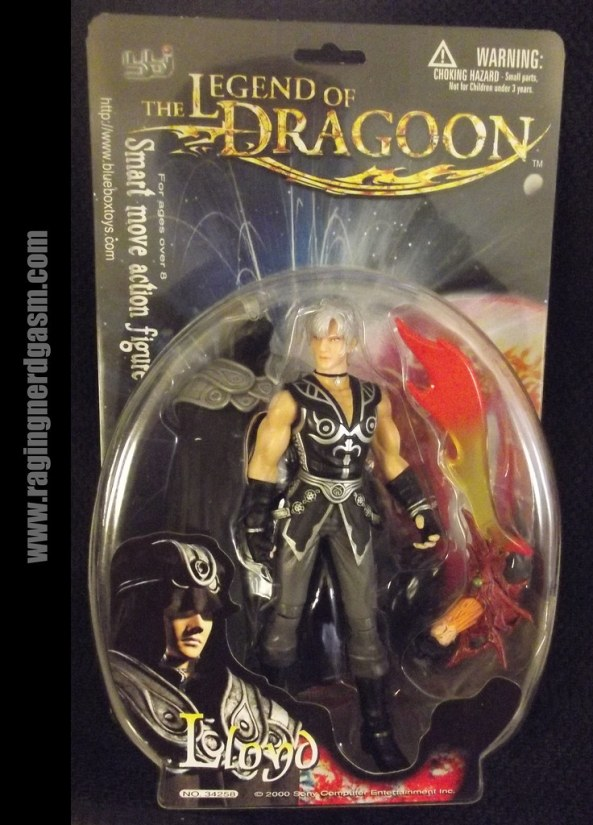 Legends of Dragoon Figures- Lloyd