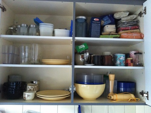 Reorganising the kitchen -- all useful stuff
