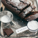 (Almost Vegan) Everyday Chocolate Loaf Cake