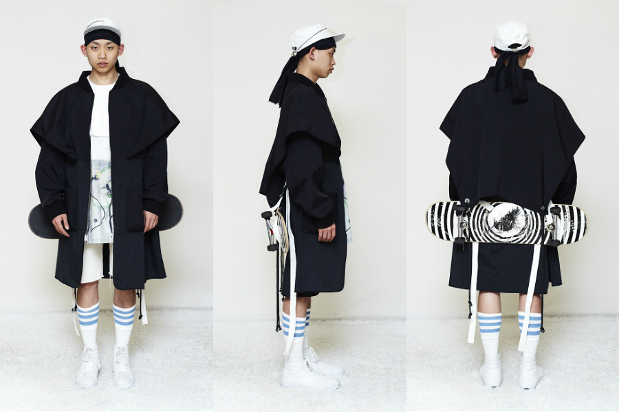 Jino Lee is a young up-and-coming menswear designer based in Antwerp 7