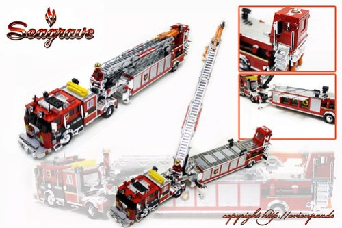Seagrave Fire Truck for Chromebricks.com