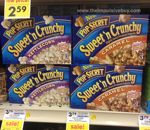 Pop-Secret Sweet 'n Crunchy