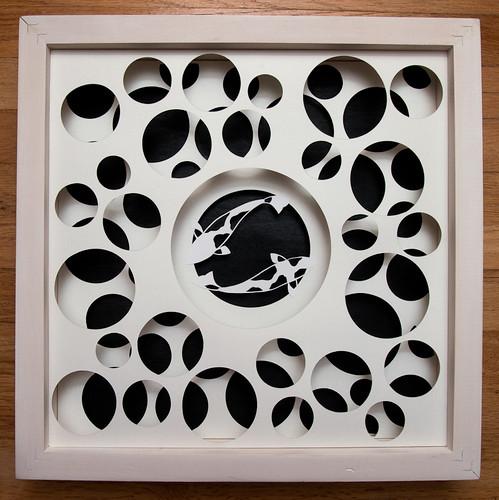 Circles and Animals- Koi