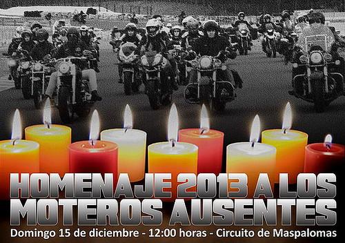 Homenaje a los Moteros Ausentes - Maspalomas