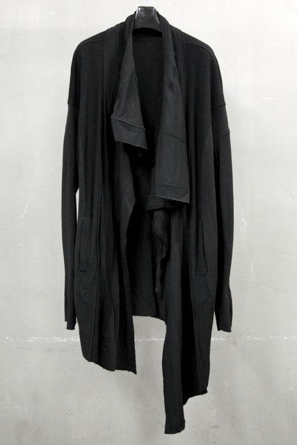 JULIUS DRAPED COAT JACKET