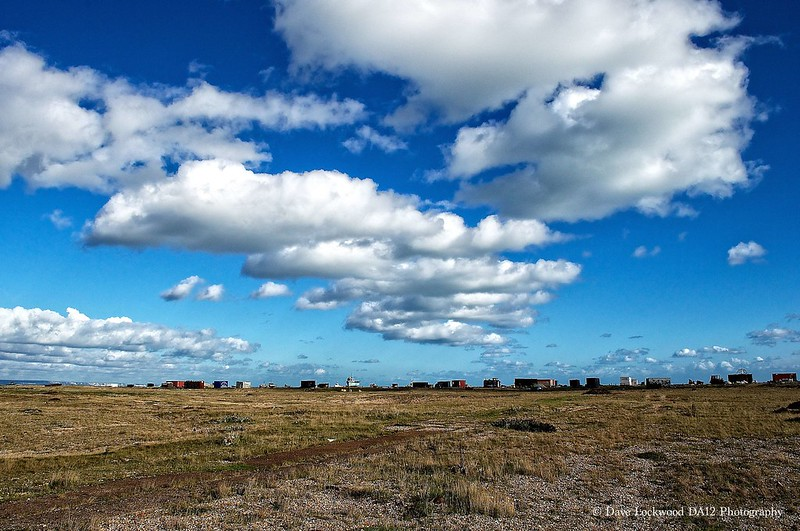 Big skies over Dungeness