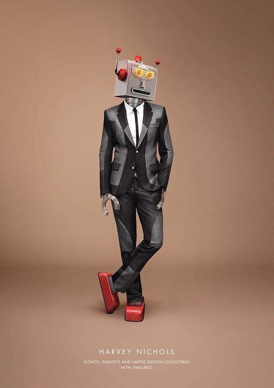 Harvey Nichols - Robot