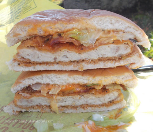 McDonald's Bacon Buffalo Ranch McChicken Innards