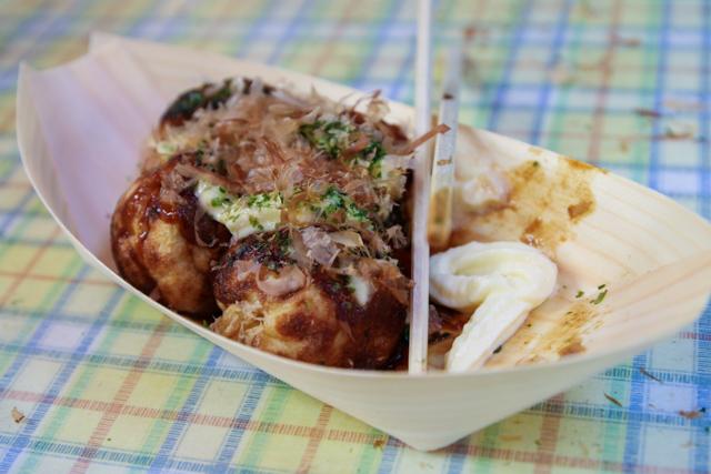 Takoyaki in Tokyo