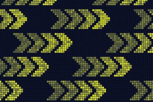 Pixel Arrows - Pattern Design