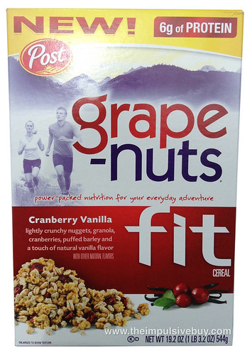 Post Grape-Nuts Cranberry Vanilla Fit Cereal