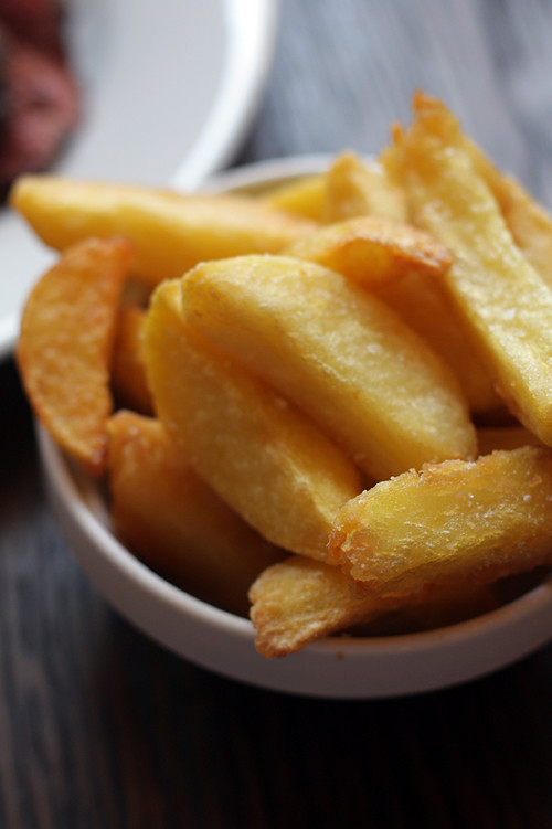 duck fat chips/fries