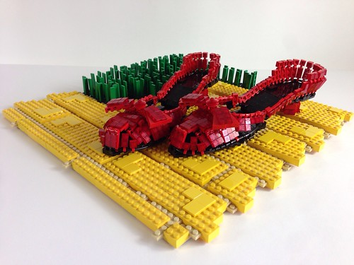 Lego Ruby Slippers
