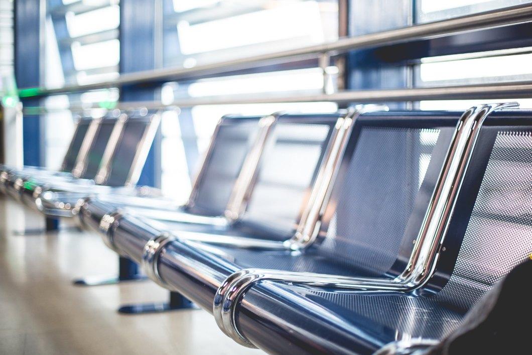 Imagen gratis de unos asientos de aeropuerto