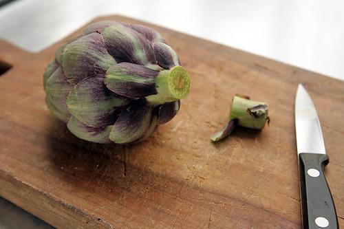 fresh artichoke