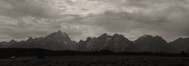 The Grand Tetons, Grand Tetons National Park, Wyoming, 2013