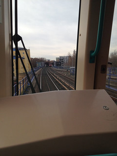 Riding Up Front on the DLR