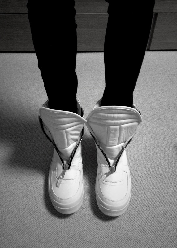 Rick Owens Sneakers Zip Closing-