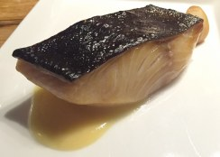 Smoked Black Cod, Saikyo Miso by Ryan Roadhouse  West Coast Dinner | Departure Lounge | Chefs Week PDX