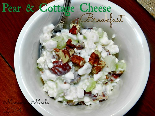 Pear & Cottage Cheese Breakfast (2)