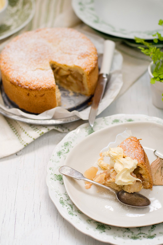 Delicious Bites: Country Apple Cake Recipe