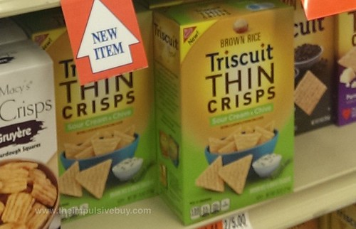 Triscuit Thin Crisps Sour Cream & Chive