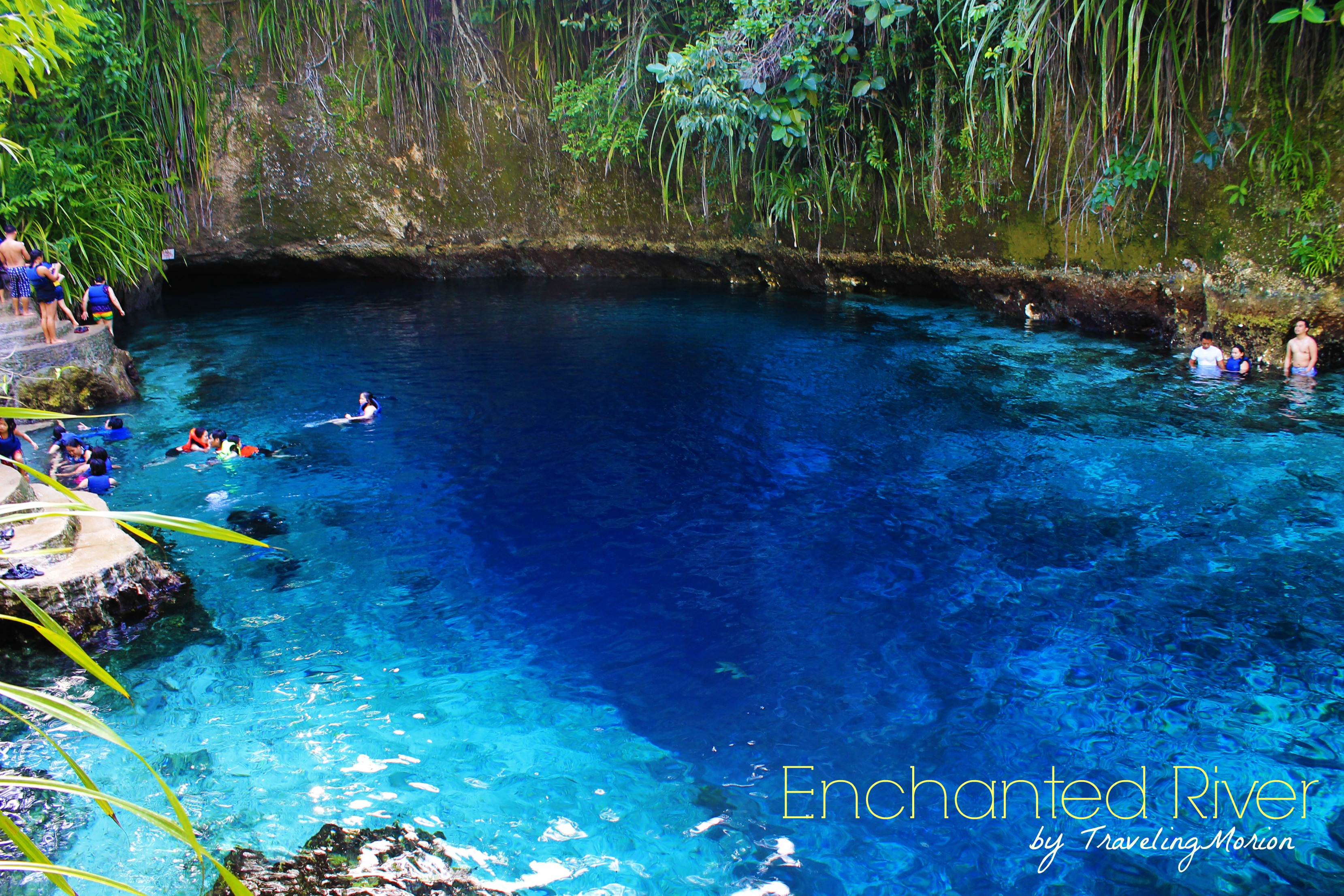 Traveling Morion Travel Photography Travel Diaries Enchanted River Of Hinatuan