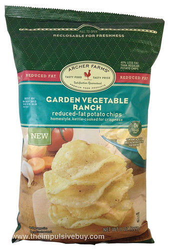 Archer Farms Garden Vegetable Ranch Reduced-Fat Potato Chips