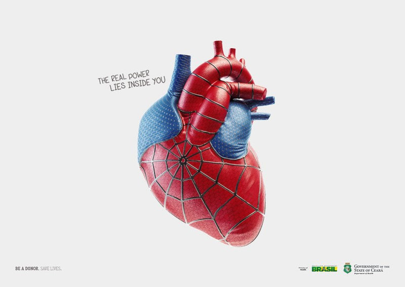 be a donor spiderman