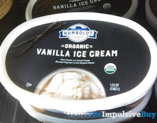 Humboldt Creamery Organic Vanilla Ice Cream