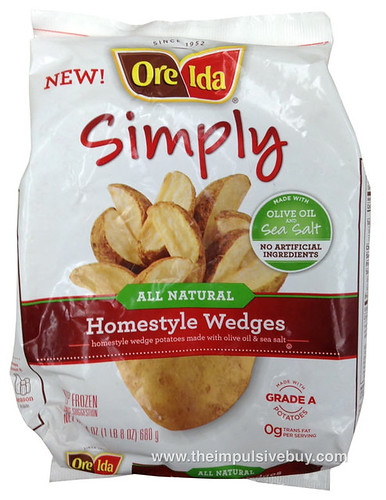 Ore-Ida Simply All Natural Homestyle Wedges