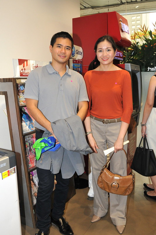Jaime Pineda and Catherine Huang