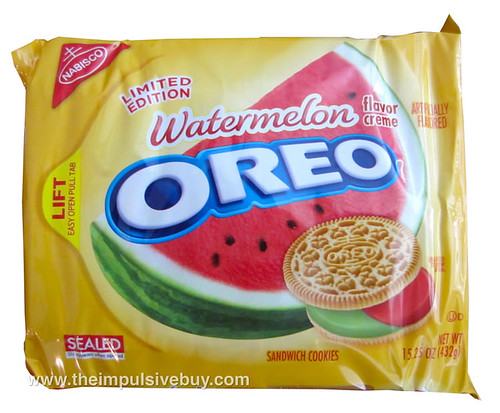 Limited Edition Watermelon Oreo