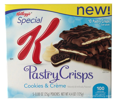 Special K Cookies & Creme Pastry Crisps