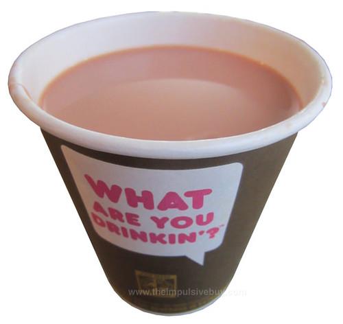 Dunkin' Donuts Red Velvet Latte