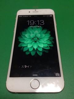 112_iPhone6のフロントパネル液晶割れ