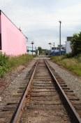 Tracks near Casa Gelato