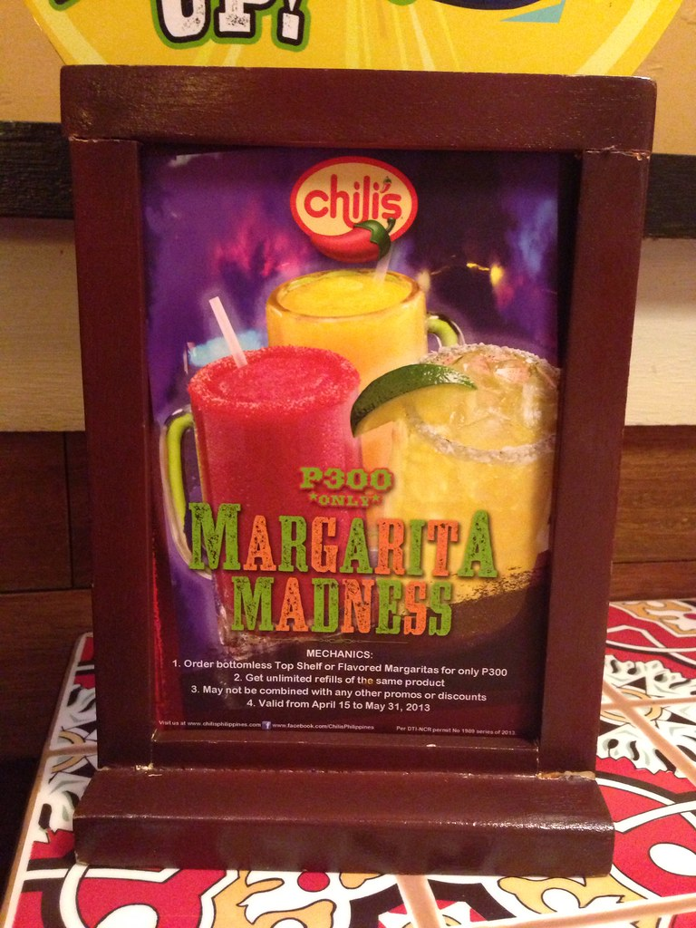 Large Of Chilis Drink Menu