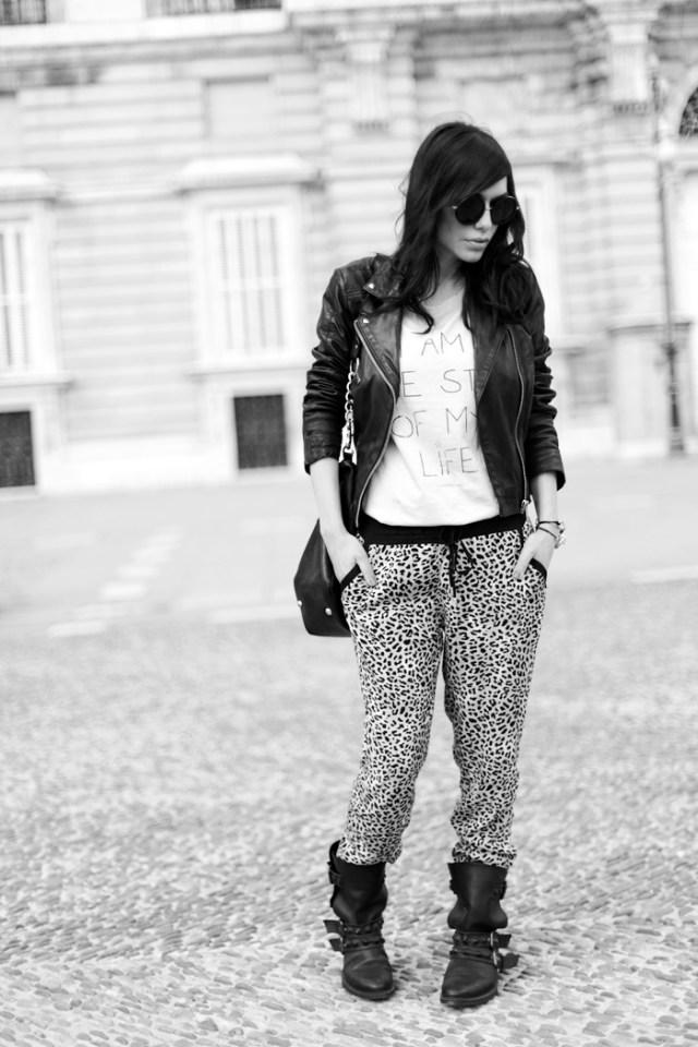 street style barbara crespo C&A pants rocker alter ego palacio real madrid fashion blogger outfit blog de moda