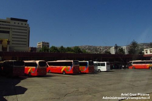 Terminal Valparaíso desde Tur Bus