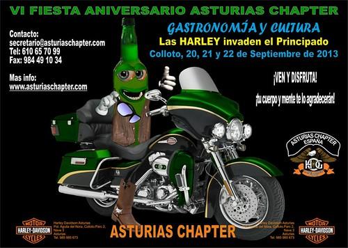 VI Fiesta Aniv. Asturias Chapter