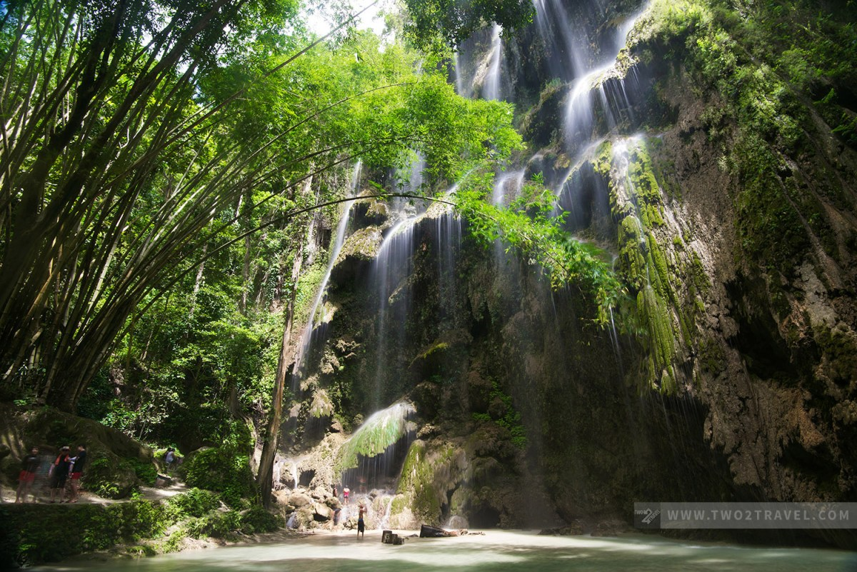 Tumalog Falls, Oslob, Cebu - Two2Travel.com