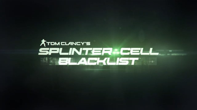 Splinter Cell: Blacklist development with Autodesk