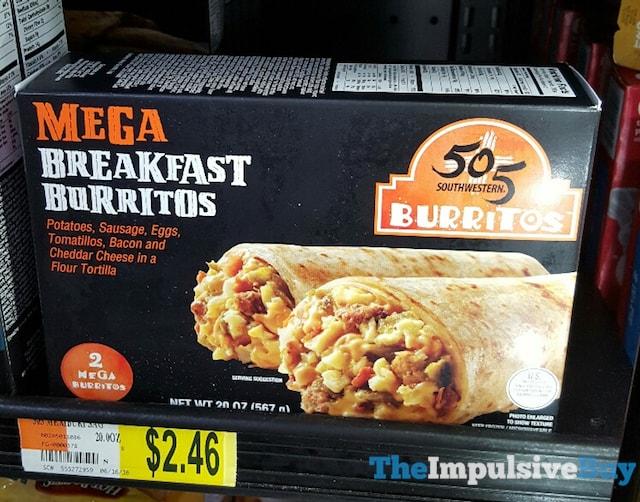 505 Southwestern Mega Breakfast Burritos