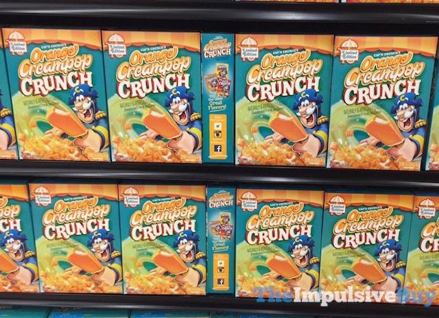 Limited Edition Cap'n Crunch's Orange Creampop Crunch Cereal